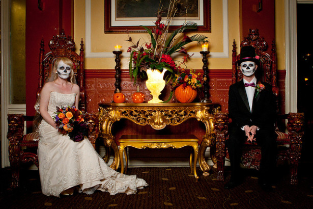 halloween wedding 1