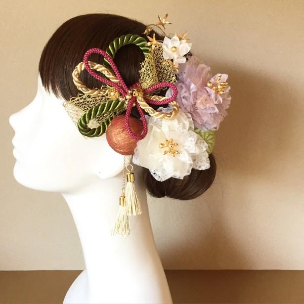 結婚式 和装 ヘッドドレス 髪飾り