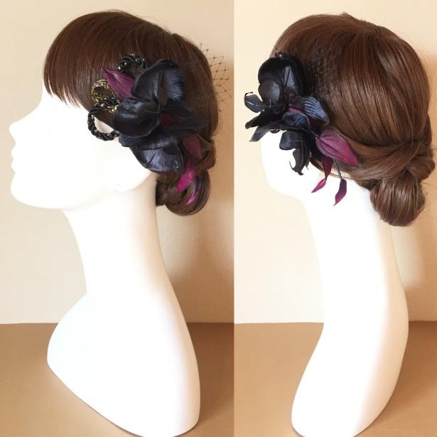 ヘッドドレス ウェディング 和装 髪飾り