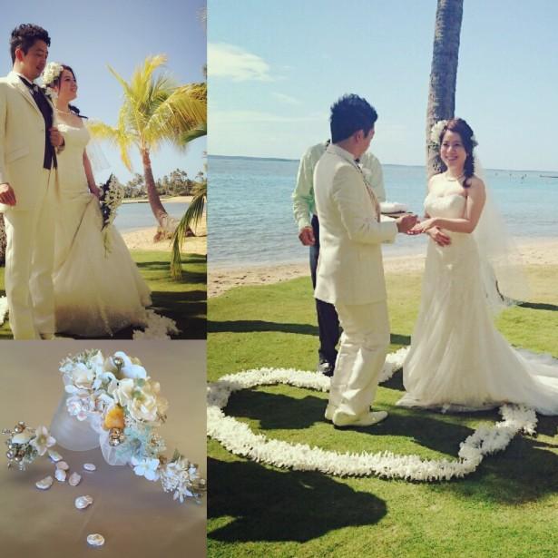 結婚式 ウェディング ヘッドドレス ハワイ
