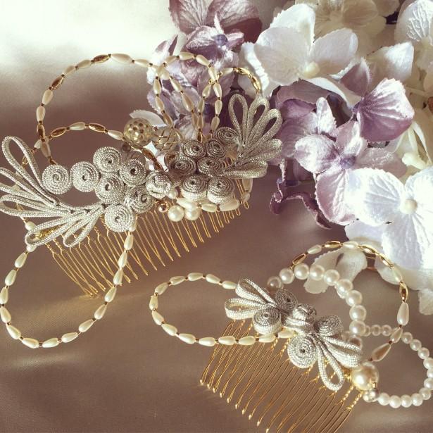 結婚式 ウェディング ヘッドドレス 名古屋 和装