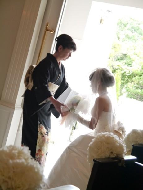 結婚式 ウェディング ヘッドドレス 名古屋 和装 ベールダウン