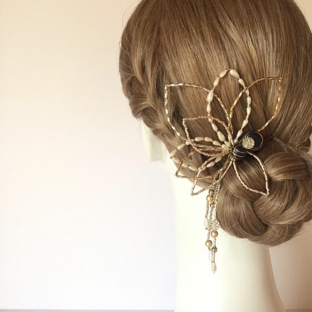 結婚式 ウェディング ヘッドドレス 留袖 名古屋