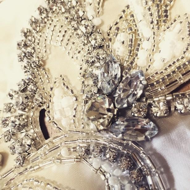 ウェディング 結婚式 ヘッドドレス ビジュー 名古屋