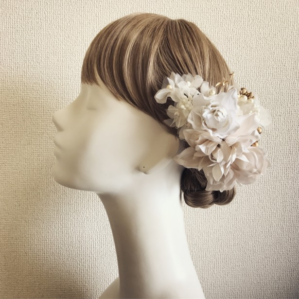 結婚式 ウェディング ヘッドドレス 名古屋
