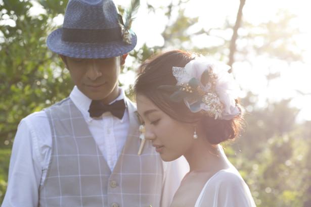 結婚式 ウェディング ヘッドドレス 名古屋 羽