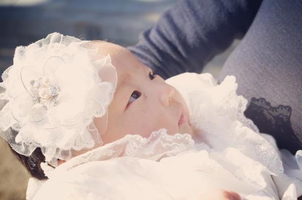 お宮参り 赤ちゃん ヘッドドレス