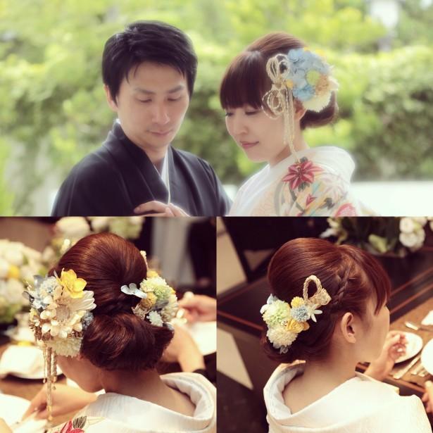 結婚式 ウェディング ヘッドドレス 和装 名古屋