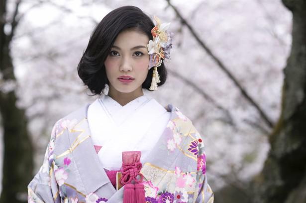 結婚式 ウェディング 和装 ヘッドドレス 名古屋 桜
