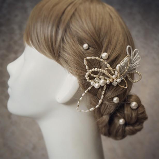 ウェディング 結婚式 和装 ヘッドドレス 髪飾り 名古屋