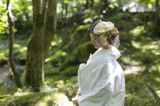 結婚式 和装  白無垢 ヘッドドレス トーク帽 名古屋 教林坊