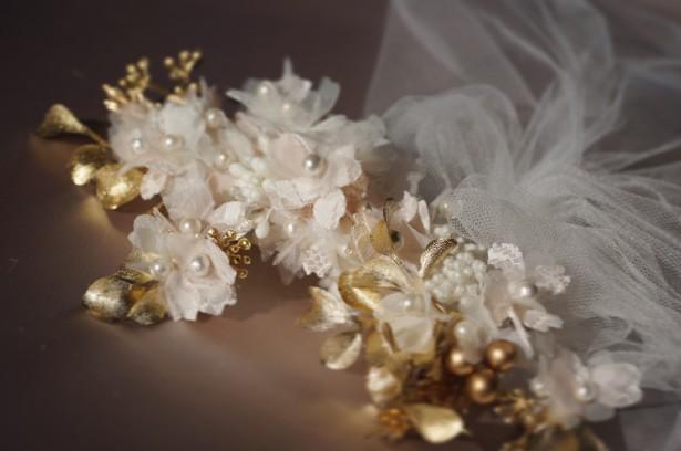 結婚式 和装 ウェディング ヘッドドレス バーベナ 髪飾り