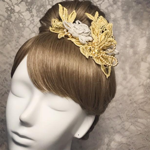 結婚式 和装 ヘッドドレス ティアラ 和装ヘア