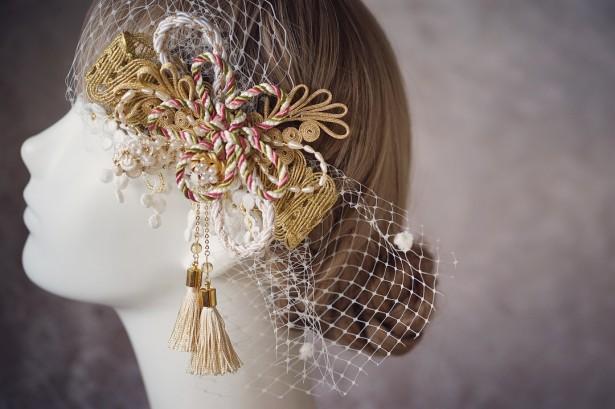 和装 ヘッドドレス 結婚式 成人式