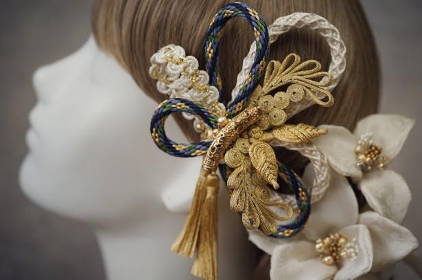 結婚式 和装 ウェディング ヘッドドレス 髪飾り