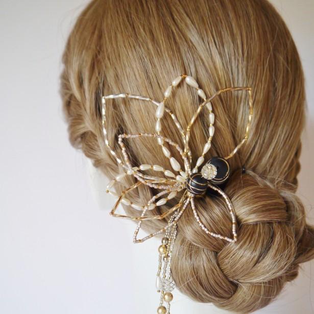 結婚式 和装 ヘッドドレス 留袖 母の日