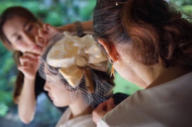 和装 結婚式 ヘッドドレス ウェディング
