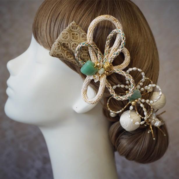 結婚式 和装 ヘッドドレス 和装ヘア yumikoyano