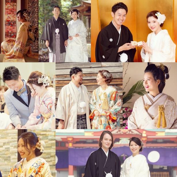 結婚式 ウェディング 和装 ヘッドドレス 花嫁ヘア yumikoyano