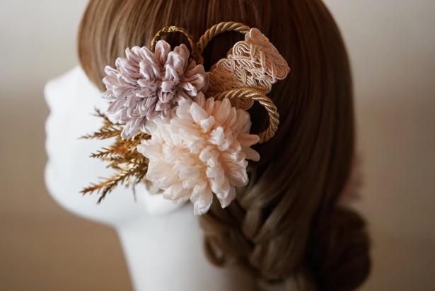 結婚式髪飾り
